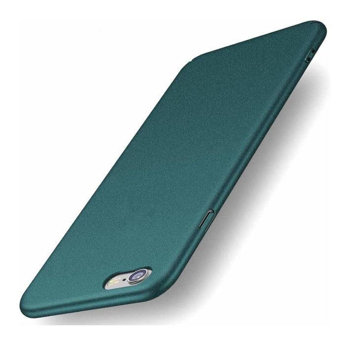 iPhone 6 Ultra Dun Hoesje - Hard Matte Case Cover Groen
