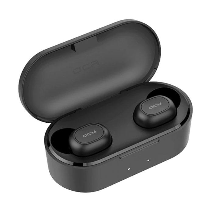 Écouteurs sans fil QS2 - Écouteurs Bluetooth 5.0 - Oreillettes sans fil Écouteurs Écouteurs Écouteurs Noir
