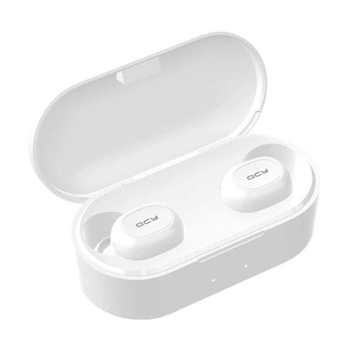 Écouteurs sans fil QS2 - Écouteurs Bluetooth 5.0 - Oreillettes sans fil Écouteurs Écouteurs Écouteurs Blanc