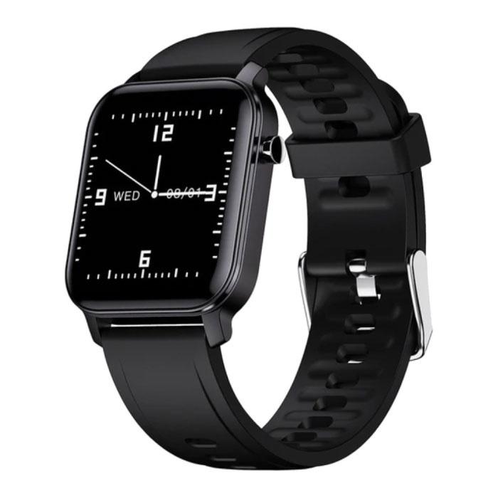 M2 Fitness Activity Tracker Smartwatch Sport Smartband Smartphone Horloge iOS / Android Zwart