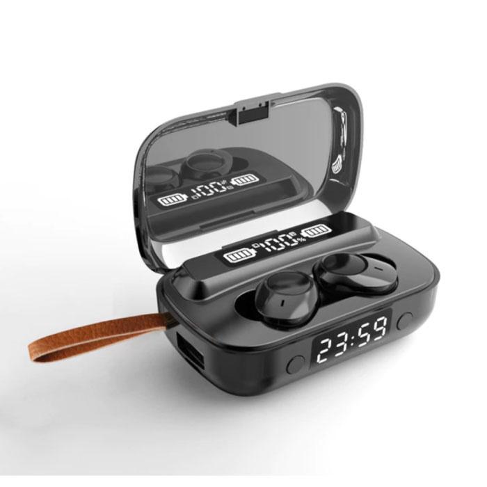 K02 Draadloze Oortjes met Powerbank Oplaaddoosje 2000mAh - True Touch Control TWS Bluetooth 5.0 Oordopjes Earphones Earbuds Oortelefoon