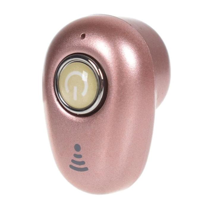 Écouteur Bluetooth sans fil S650 avec bouton multifonction - TWS Ear Écouteur sans fil Bud Écouteur Écouteur rose
