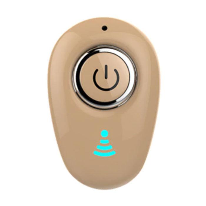 S650 Draadloos Bluetooth Oortje met Multifunctionele Knop - TWS Ear  Wireless Bud Earphone Earbud Oortelefoon Geel