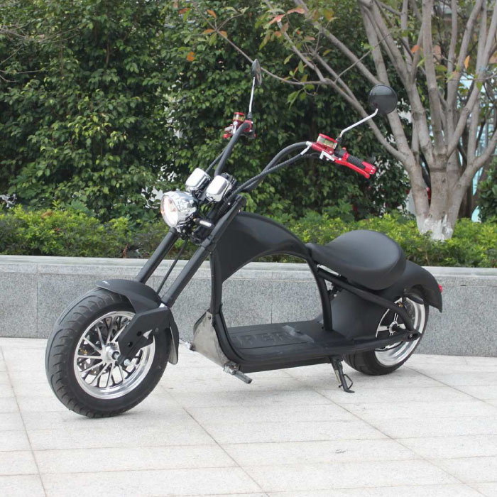 """City Coco Chopper - Smart Electric E Scooter Harley - 21 """"- 2000W - 20Ah"""