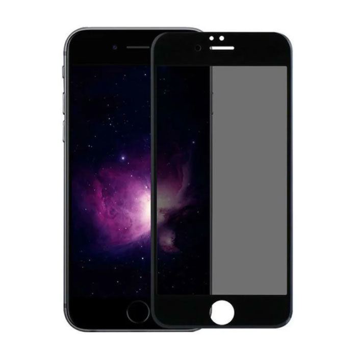 Stuff Certified® 2-Pack iPhone 8 Plus Privacy Screen Protector Full Cover - Tempered Glass Film Gehard Glas Glazen