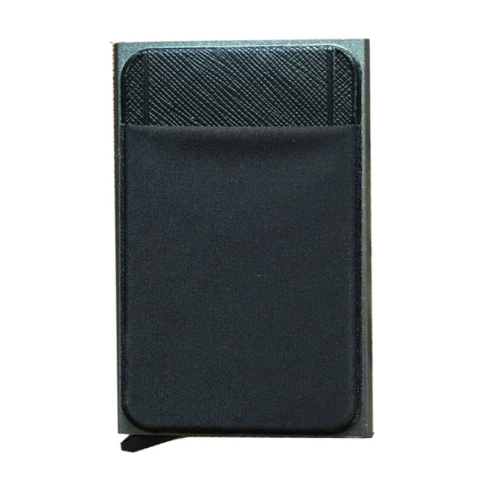 Aluminium Slim Wallet - Portemonnee Portefeuille Pasjeshouder Krediet Kaart Geld Clip - Goud