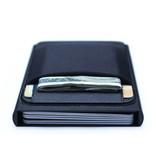 Stuff Certified® Aluminium Slim Wallet - Portemonnee Portefeuille Pasjeshouder Krediet Kaart Geld Clip - Rood