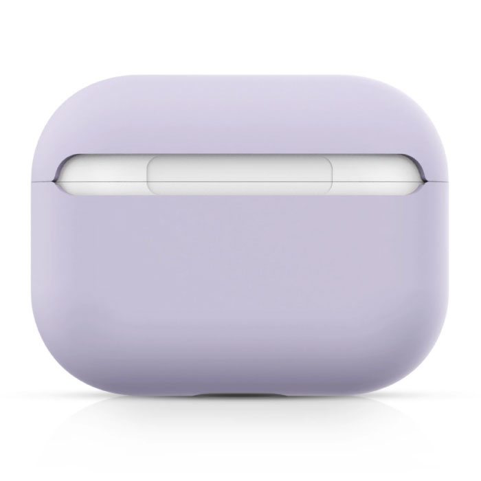 SIFREE Flexibel Hoesje voor AirPods Pro - Silicone Skin AirPod Case Cover Soepel - Donkergrijs