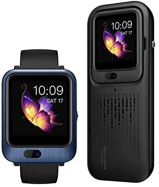 LEM11 3-in-1 Smartwatch + Draadloze Speaker/Powerbank iOS Android - 32GB - Blauw