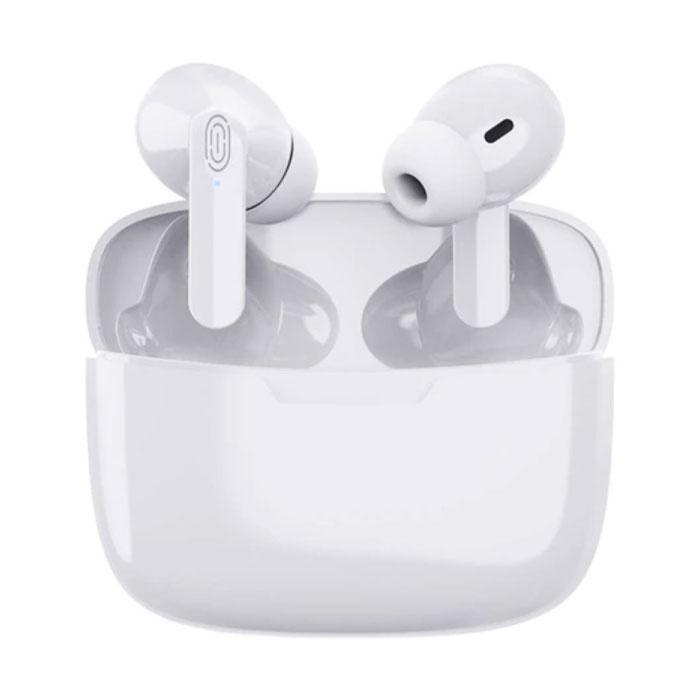 Y113 Wireless Earphones - True Touch Control TWS Bluetooth 5.0 Ear Buds Wireless Earphones Earbuds Earphone White
