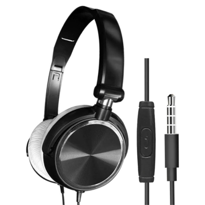 HiFi Gaming Koptelefoon voor PC/Xbox/PS4/PS5 - Wired Headset Headphones Zwart