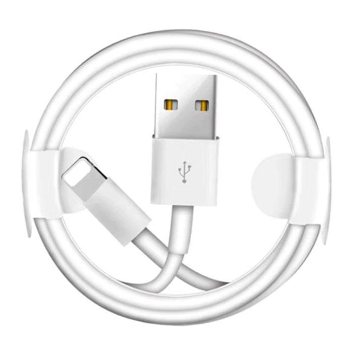 Lightning USB Oplaadkabel Voor iPhone/iPad/iPod Datakabel Oplader 1 Meter