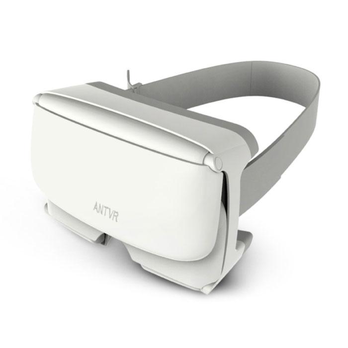 Lunettes Xiaomeng Virtual Reality 3D VR 100 ° pour Smartphones 4,7 - 6 pouces Blanc