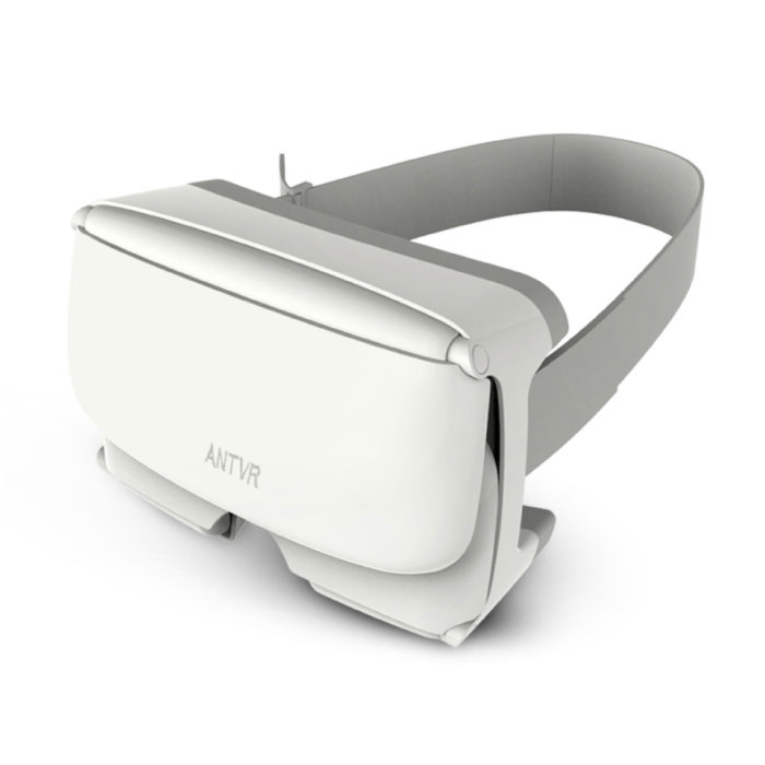Xiaomeng Virtual Reality 3D VR Bril 100° voor 4,7 - 6 inch Smartphones Wit