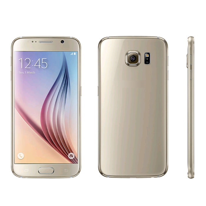 Samsung Galaxy S6 G920F Smartphone Unlocked SIM Free - 32 GB - Mint - Gold - 3 Year Warranty