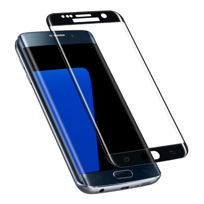 Samsung Galaxy S7 Edge Protecteur d'écran à couverture complète 9D Film de verre trempé Lunettes en verre trempé