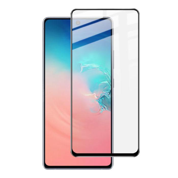 Pack de 2 Samsung Galaxy Note 10 Plus Protecteur d'écran Full Cover Film de verre trempé 9D Lunettes en verre trempé