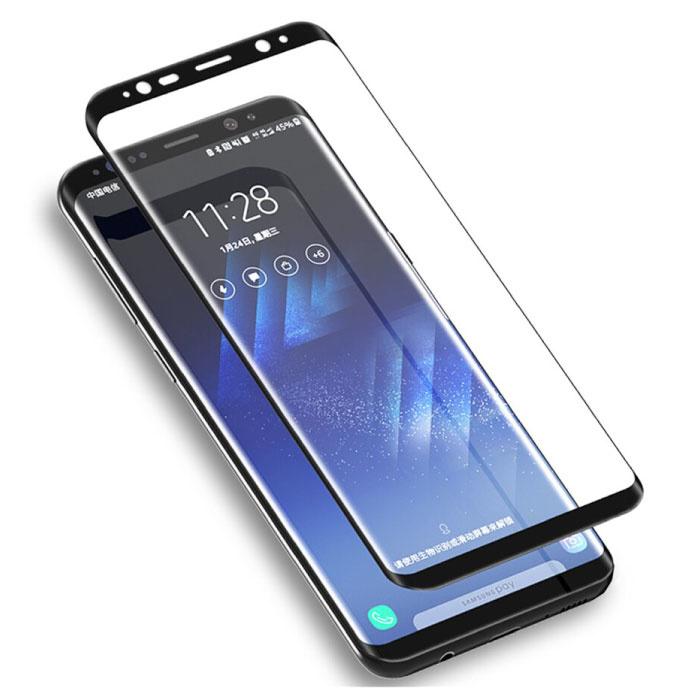 Stuff Certified® 3-Pack Samsung Galaxy A6 Plus 2018 Full Cover Screen Protector 9D Tempered Glass Film Gehard Glas Glazen