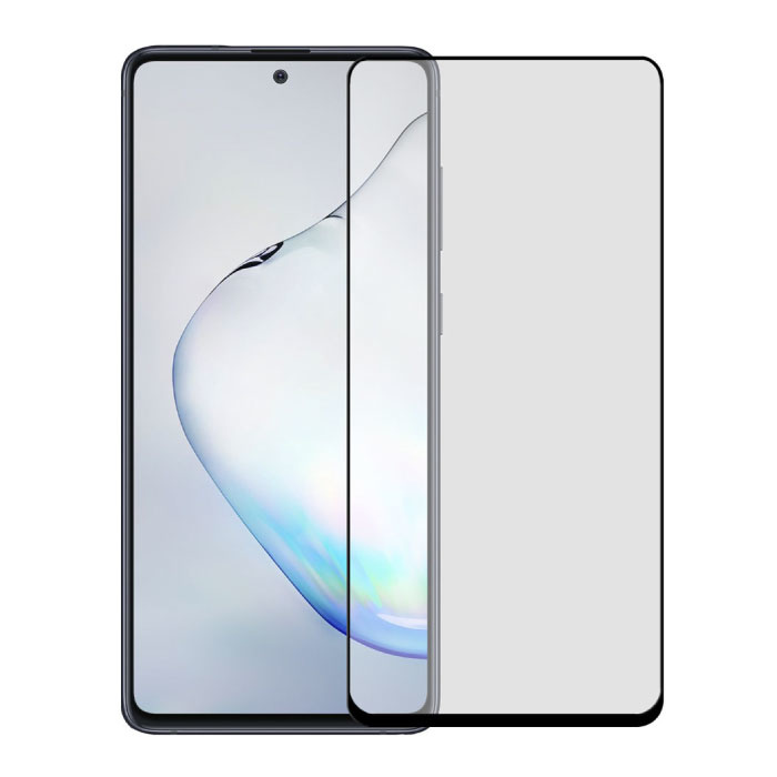 Stuff Certified® 3-Pack Samsung Galaxy Note 10 Plus Full Cover Screen Protector 9D Tempered Glass Film Gehard Glas Glazen