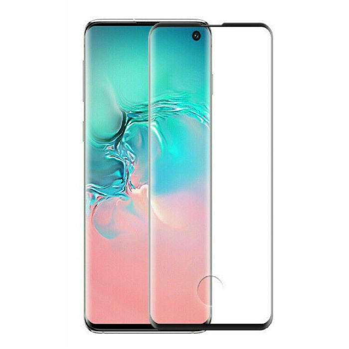 Stuff Certified® 3-Pack Samsung Galaxy S10e Full Cover Screen Protector 9D Tempered Glass Film Gehard Glas Glazen