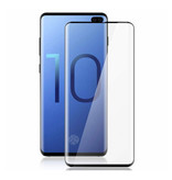 Stuff Certified® 3-Pack Samsung Galaxy S10 Full Cover Screen Protector 9D Tempered Glass Film Gehard Glas Glazen