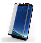 Stuff Certified® 3-Pack Samsung Galaxy S8 Full Cover Screen Protector 9D Tempered Glass Film Gehard Glas Glazen