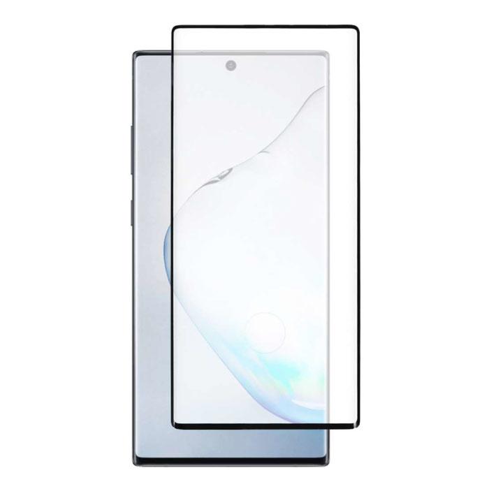 Pack de 2 Samsung Galaxy Note 10 Lite Protecteur d'écran Full Cover Film de verre trempé 9D Lunettes en verre trempé