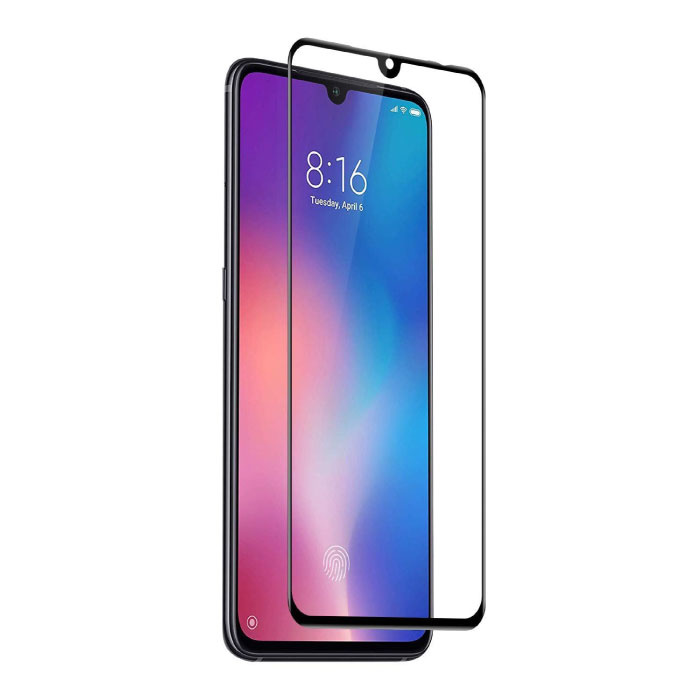 2-Pack Samsung Galaxy A10 Full Cover Screen Protector 9D Tempered Glass Film Gehard Glas Glazen