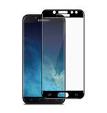 Stuff Certified® 3-Pack Samsung Galaxy J5 2017 Full Cover Screen Protector 9D Tempered Glass Film Gehard Glas Glazen