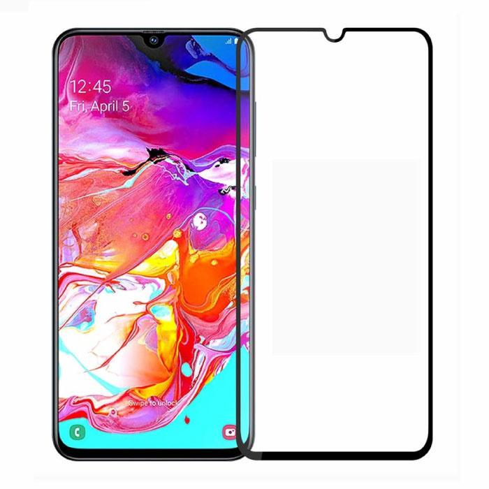 Stuff Certified® 3-Pack Samsung Galaxy A70 Full Cover Screen Protector 9D Tempered Glass Film Gehard Glas Glazen