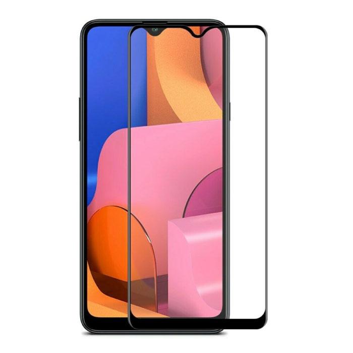 Stuff Certified® 3-Pack Samsung Galaxy A30 Full Cover Screen Protector 9D Tempered Glass Film Gehard Glas Glazen