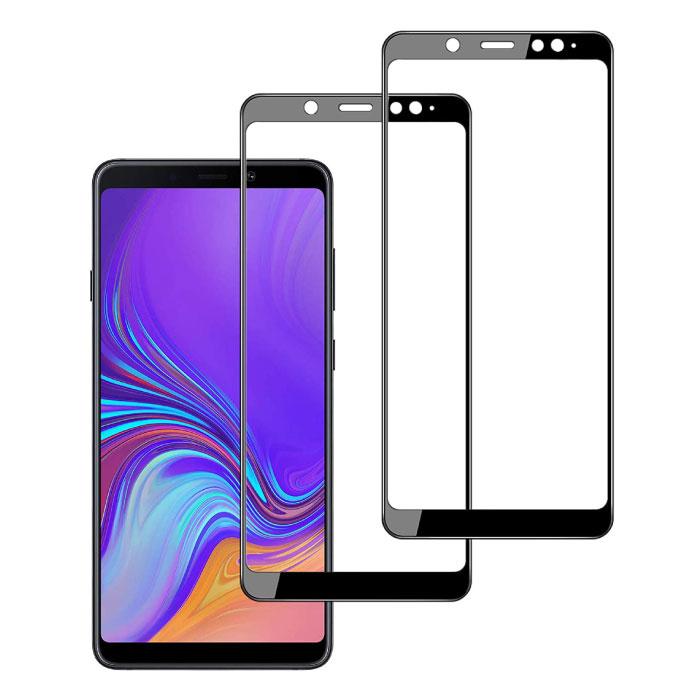 3-Pack Samsung Galaxy A9 2017 Protecteur d'écran à couverture complète 9D Film de verre trempé Lunettes en verre trempé