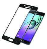 Stuff Certified® 3-Pack Samsung Galaxy A5 2017 Full Cover Screen Protector 9D Tempered Glass Film Gehard Glas Glazen