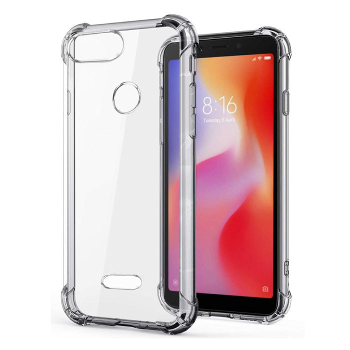 Xiaomi Mi 6 Transparant Bumper Hoesje - Clear Case Cover Silicone TPU Anti-Shock