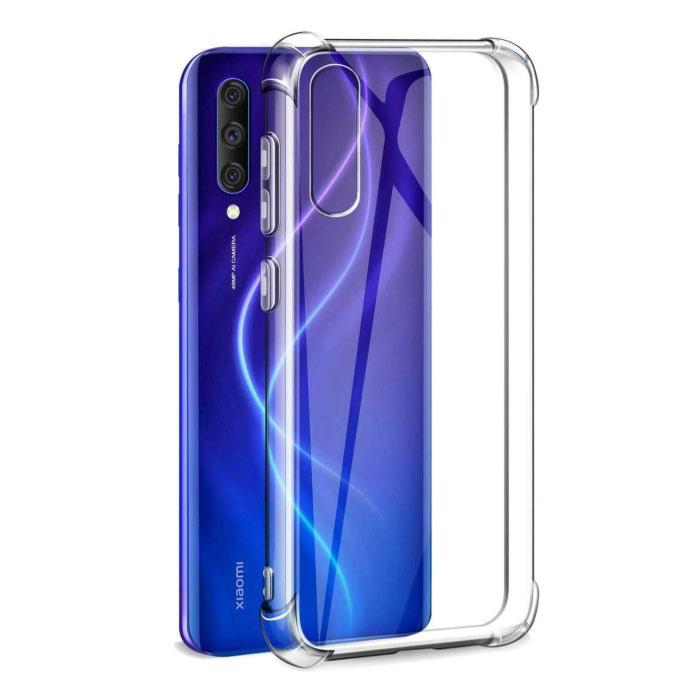 Xiaomi Mi A3 Transparent Bumper Case - Clear Case Cover Silicone TPU Anti-Shock