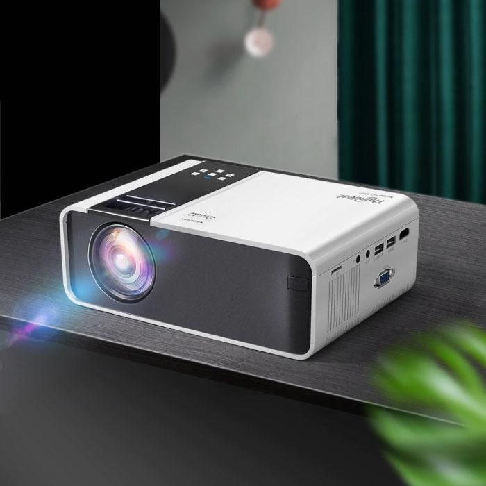 Mini projecteur LED TD90 - Lecteur multimédia domestique Mini Beamer