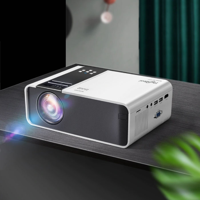 TD90 Mini LED Projektor - Mini Beamer Home Media Player