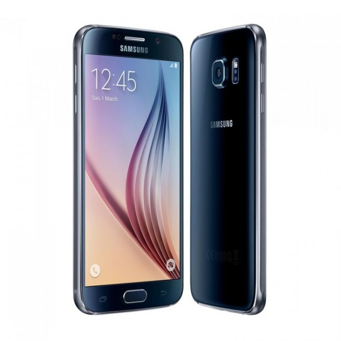 Smartphone Samsung Galaxy S6 G920F débloqué sans carte SIM - 32 Go - Vert menthe - Noir - Garantie 3 ans