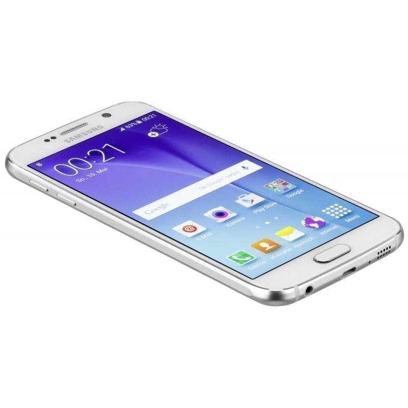 Samsung Galaxy S6 G920F Smartphone Unlocked SIM Free - 32 GB - Mint - White - 3 Year Warranty