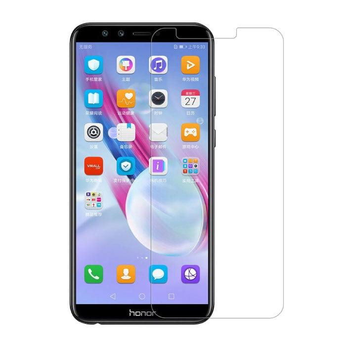 Lot de 2 verres en verre trempé avec film de protection d'écran Huawei Honor 9 Lite