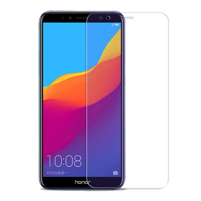 Lot de 3 verres en verre trempé avec film de protection d'écran Huawei Honor 7A