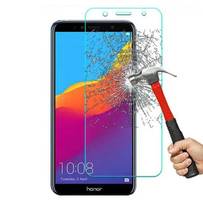 Stuff Certified® 2-Pack Huawei Honor 7A Screen Protector Tempered Glass Film Gehard Glas Glazen