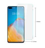 Stuff Certified® 3-Pack Huawei P40 Lite Screen Protector Tempered Glass Film Gehard Glas Glazen