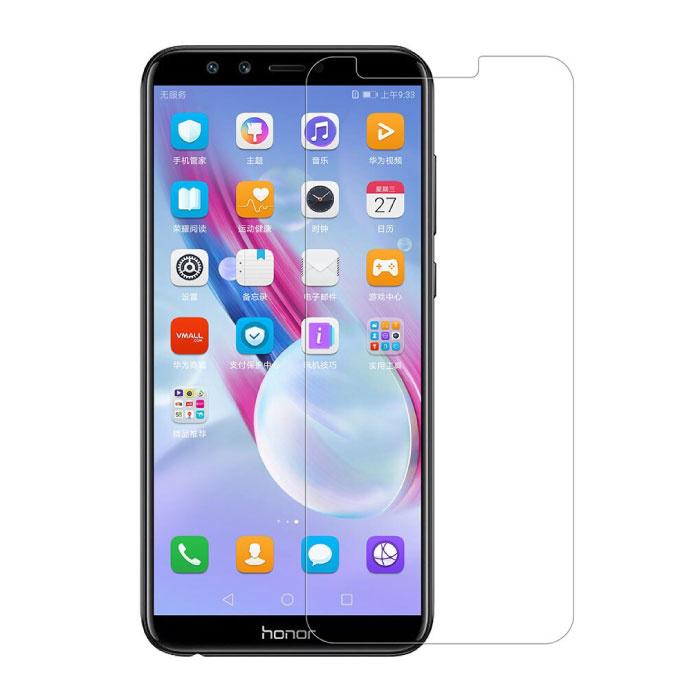 Lot de 5 verres en verre trempé avec film de protection d'écran Huawei Honor 9 Lite