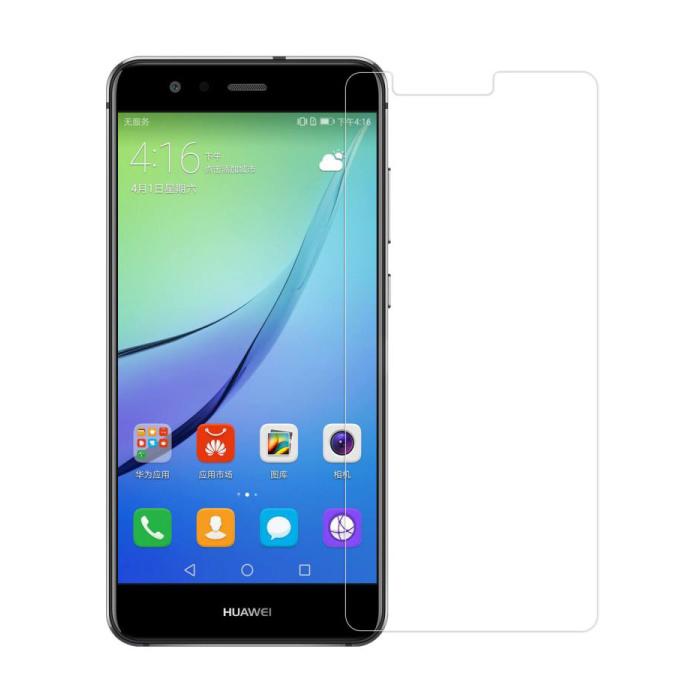 Paquet de 5 verres en verre trempé avec film de protection d'écran Huawei P10 Plus