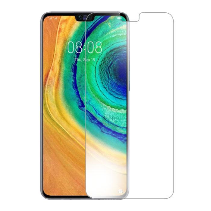 Paquet de 10 verres en verre trempé avec film de protection d'écran Huawei Mate 30
