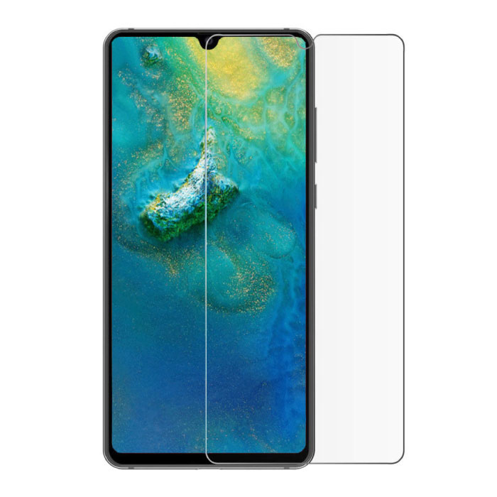 Paquet de 10 verres en verre trempé avec film de protection d'écran Huawei Y9 2018