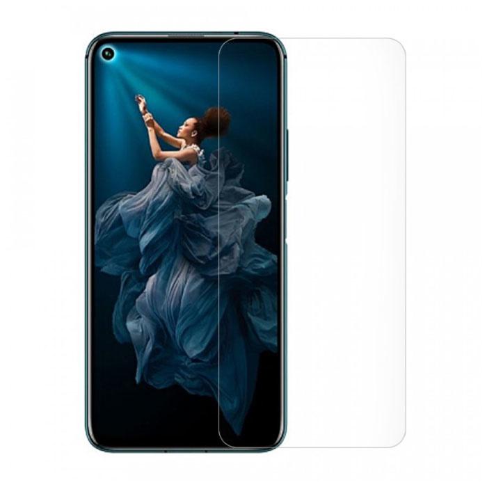 Paquet de 10 verres en verre trempé avec film de protection d'écran Huawei Honor 20