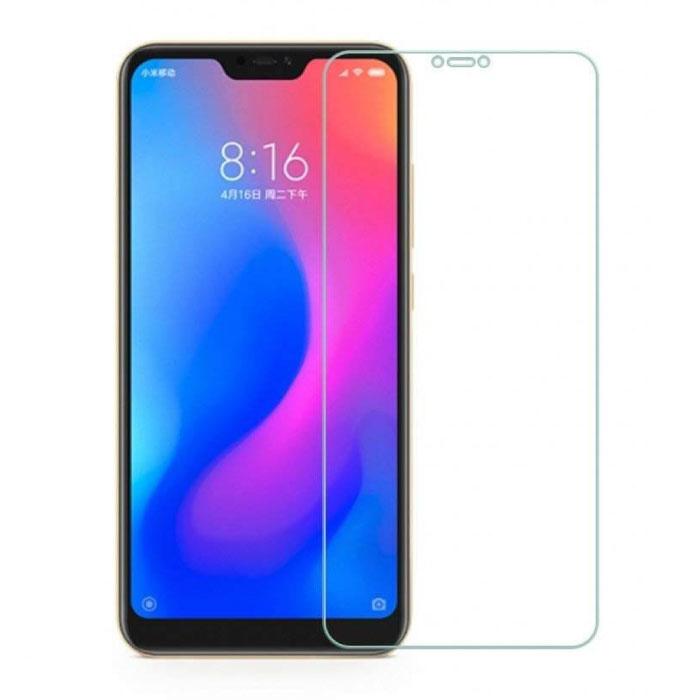 Lot de 2 verres en verre trempé avec film de protection d'écran Xiaomi Mi A2 Lite