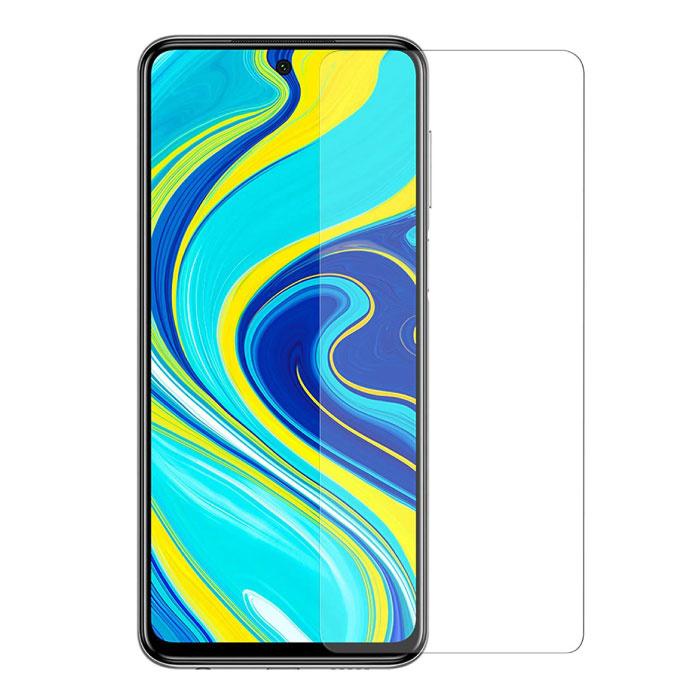 2er-Pack Xiaomi Redmi Note 9 Pro Displayschutzfolie aus gehärtetem Glas Hartglas